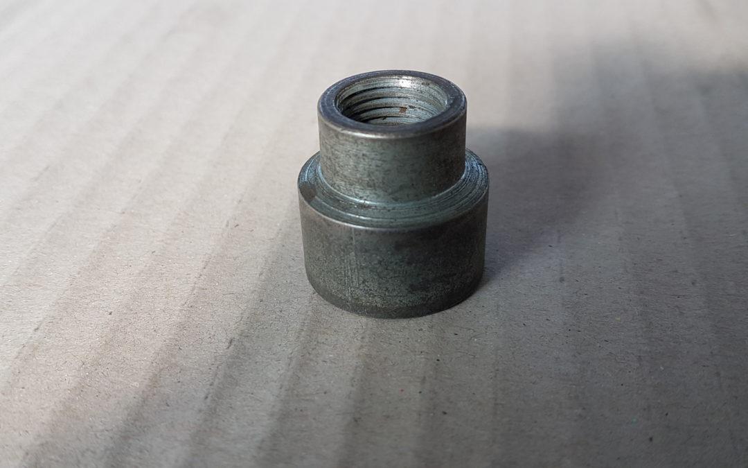 Manicotto ridotto in ferro 1/2×3/8 FF