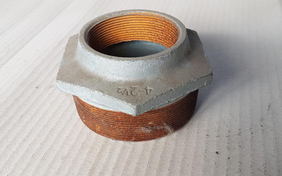 Riduzione in ferro 4×2.1/2 MF