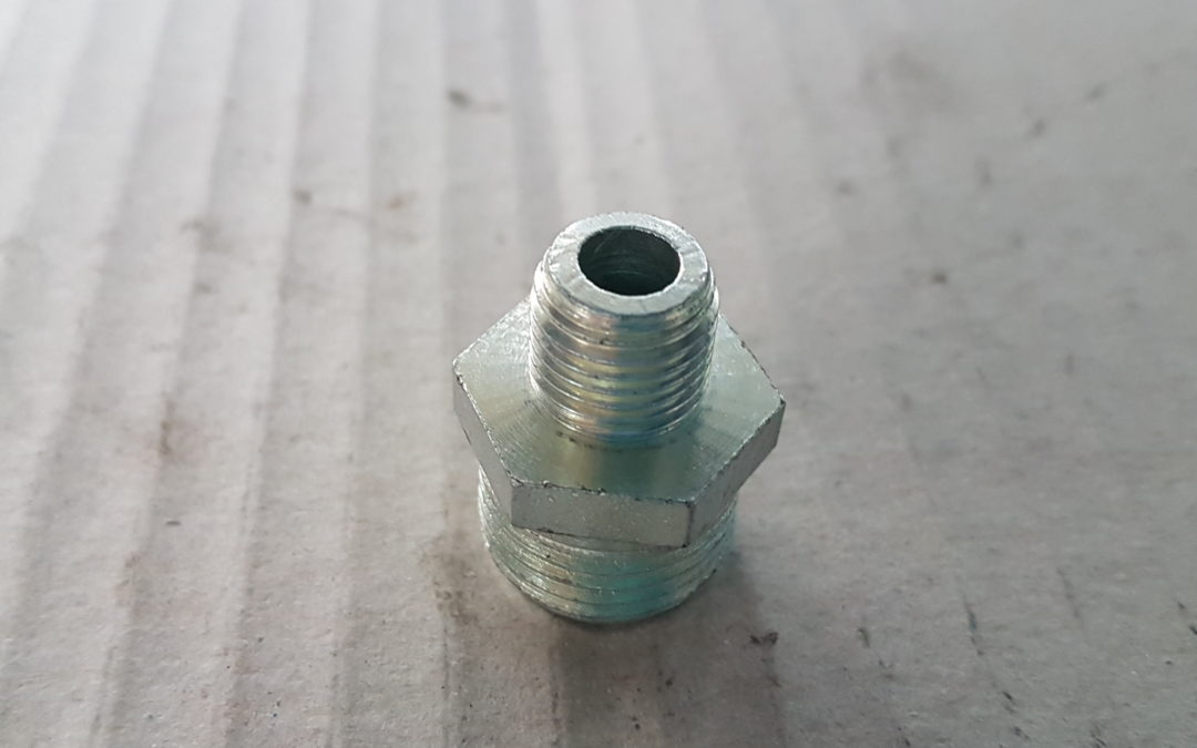Vite ridotta in ferro 1.1/2×3/4