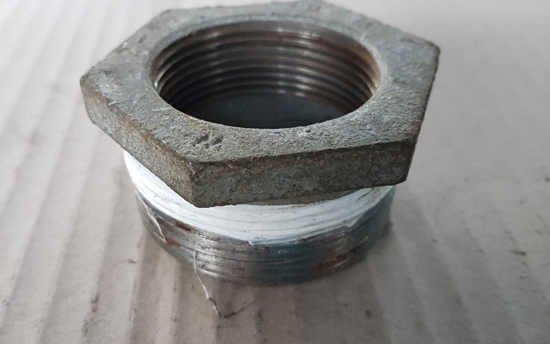 Riduzione in ferro 2×1.1/2 MF
