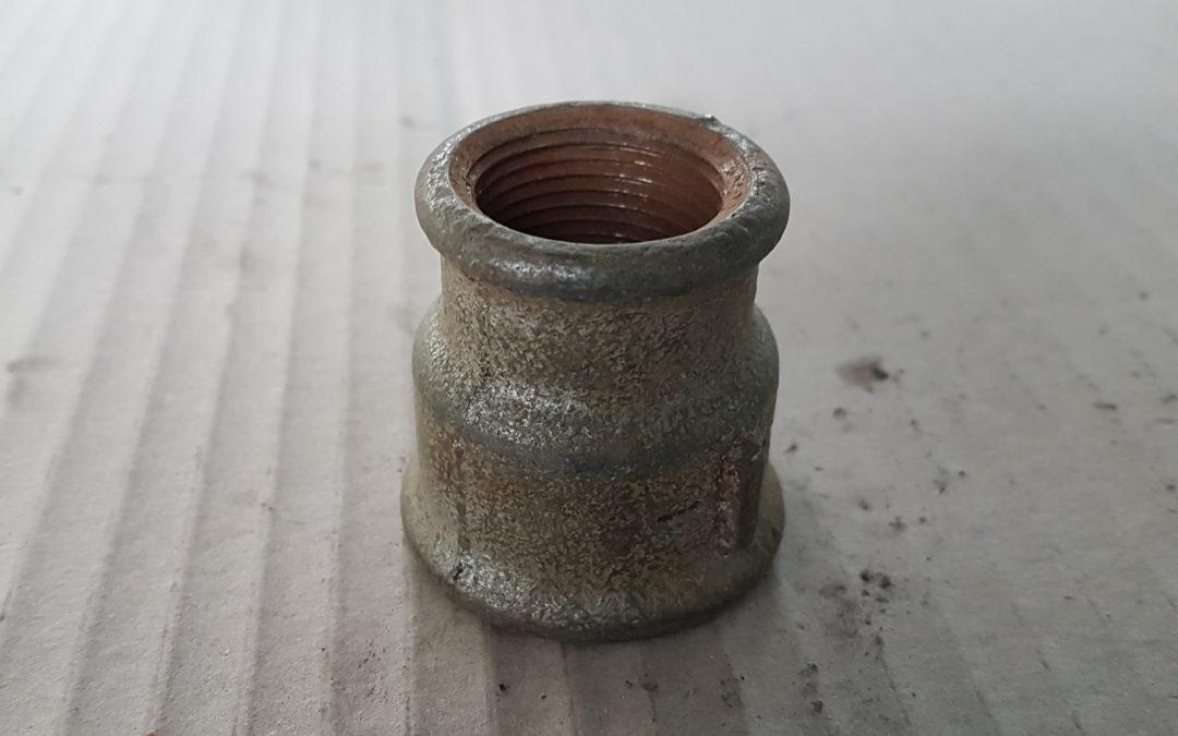 Manicotto ridotto in ferro 1×3/4 FF