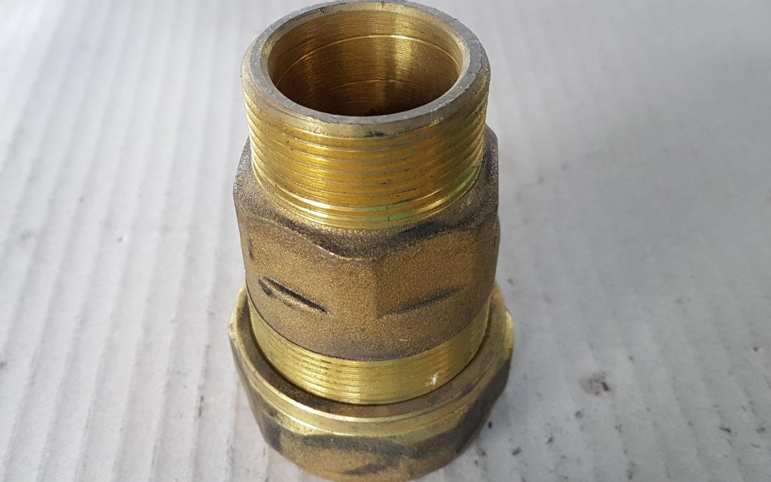 Tubofix in ottone da 1.1/4 M