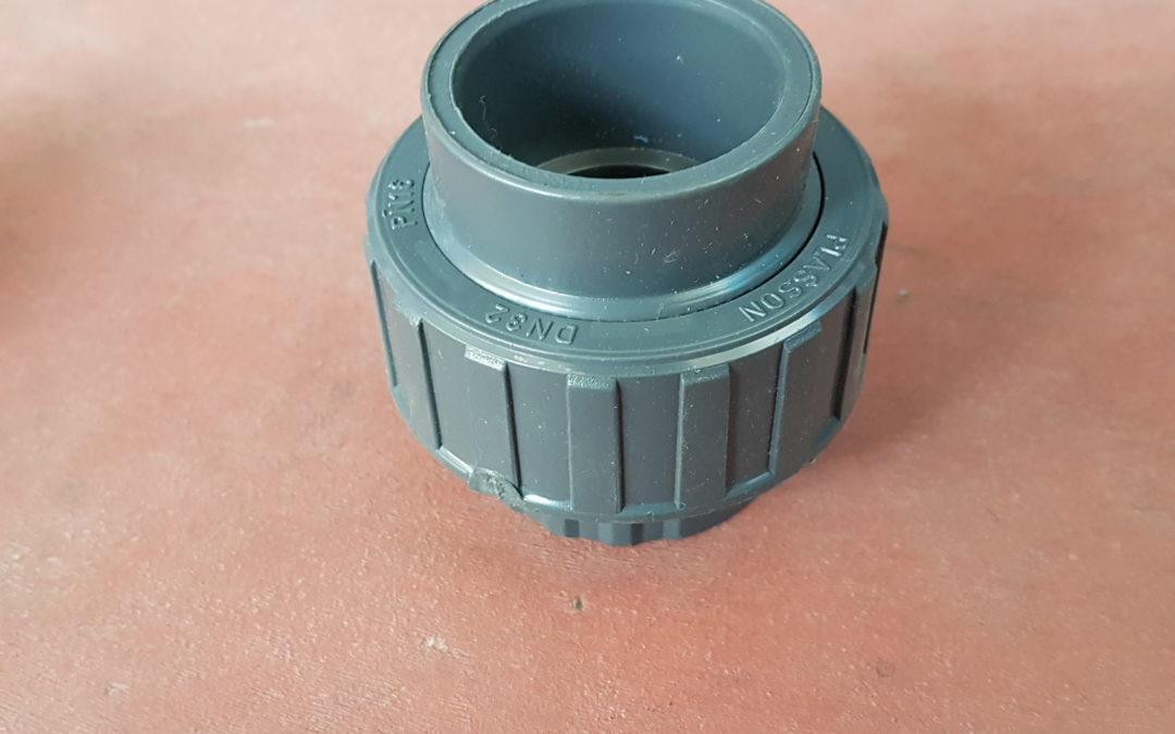 Bocchettone in PVC D.32×1