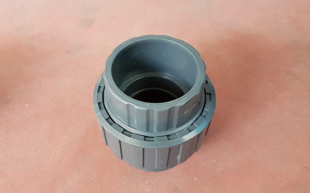 Bocchettone in PVC D.50