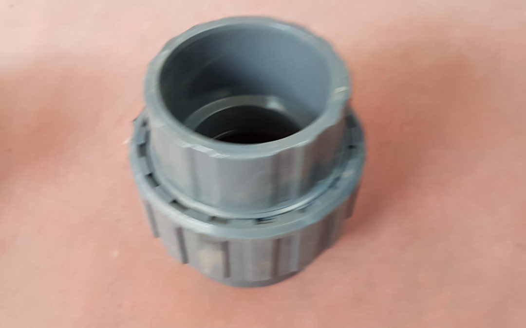 Bocchettone in PVC D.110